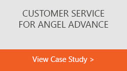 Customer Service for Angel Advance text box