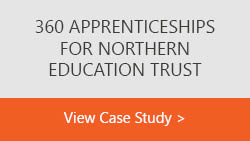 Northern Eduction Trust text box