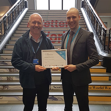 Scotland employer of the month
