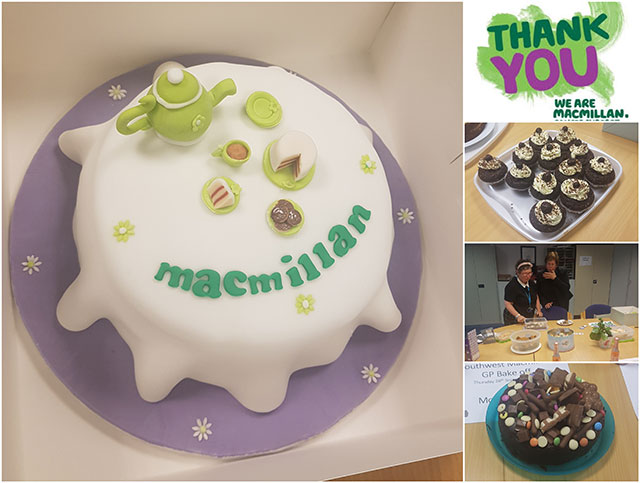 Bodmin MacMillan coffee morning